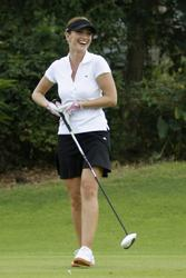 Minka Kelly - Mission Hills World Celebrity Pro-Am golf tournament in China; October 21, 2012 (day 2)