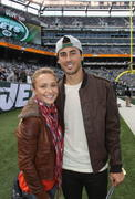 Hayden Panettiere - Jets vs Colts NFL game in New Jersey 10/14/12
