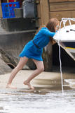 Isla Fisher | Candids on a Boat in Sydney | October 13 | 9 pics