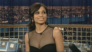 Rosario Dawson - Late Night with Conan O'Brien (2006)