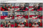 Susanna Reid - tights crossing legs - BBC Breakfast News 15th January 2010